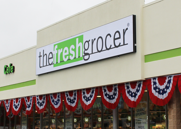 Fresh Grocer Near 69th Street