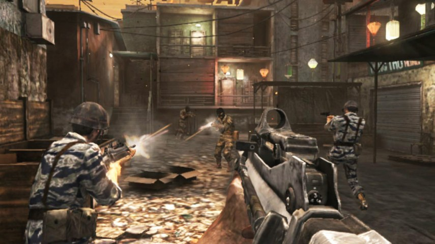 Take Two       First person shooter video games may have neurological     Still from the game