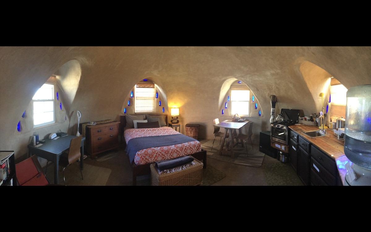 Adobe Dome House Airbnb Texas