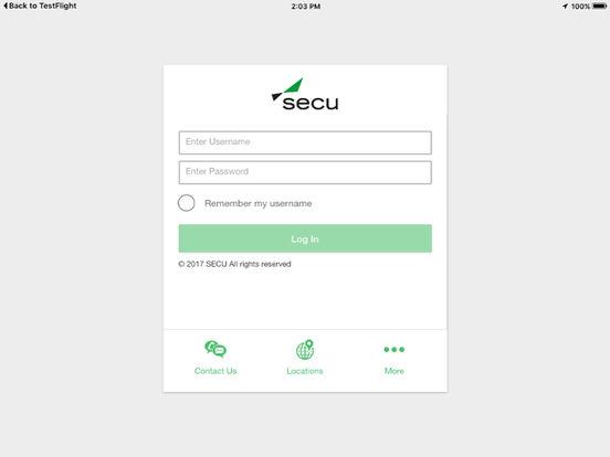 Secu Mobile Banking Nc