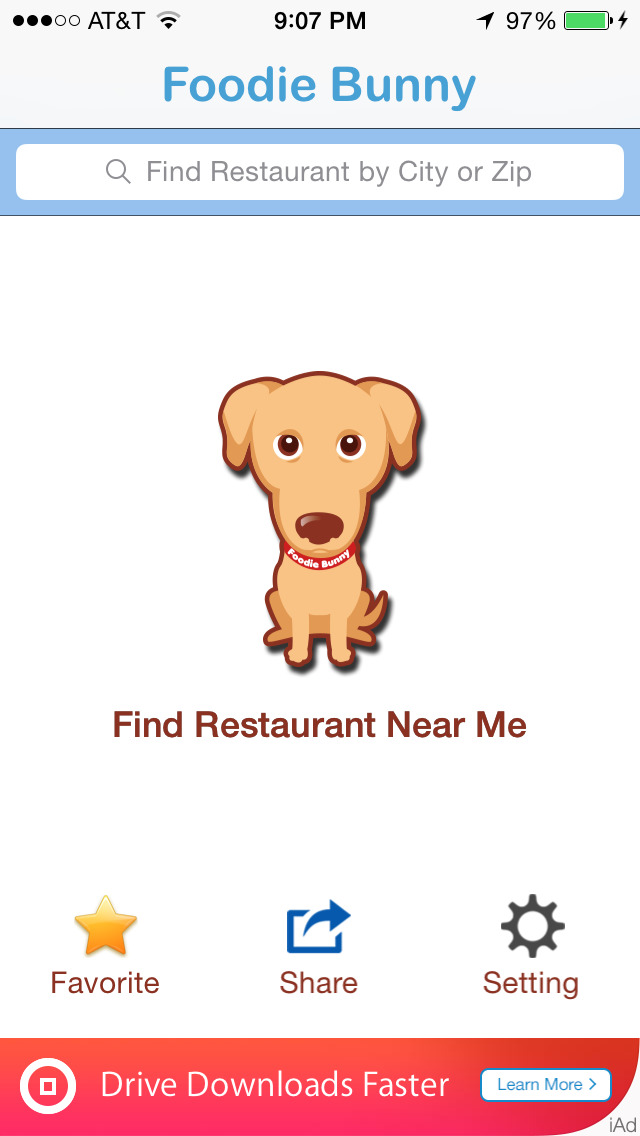 Search Restaurants Near Me