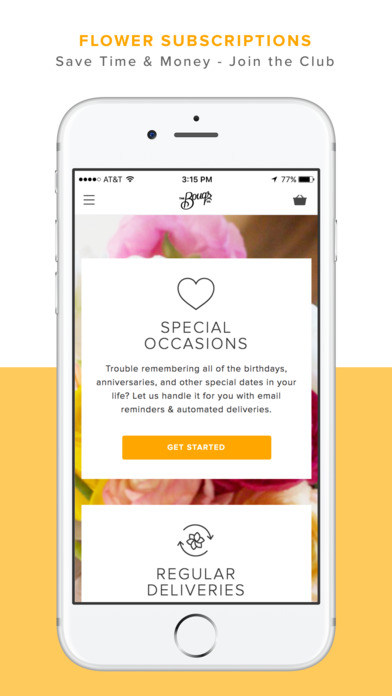 Fresh Direct First App Order