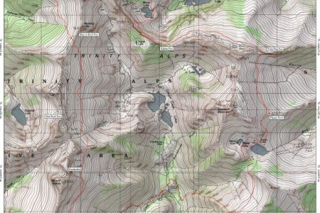 map trinity alps » Free Wallpaper for MAPS | Full Maps