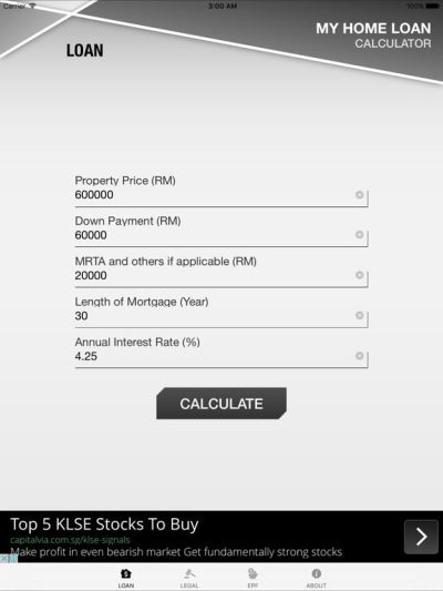 Malaysia Home Loan Calculator on the App Store