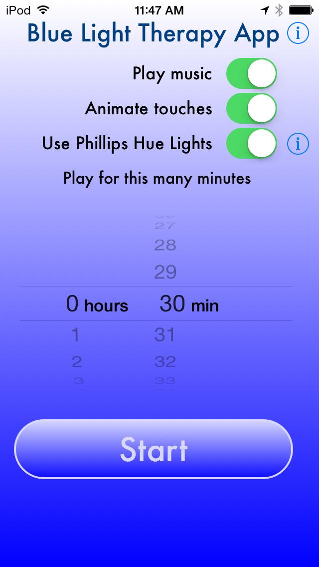 Blue Light App