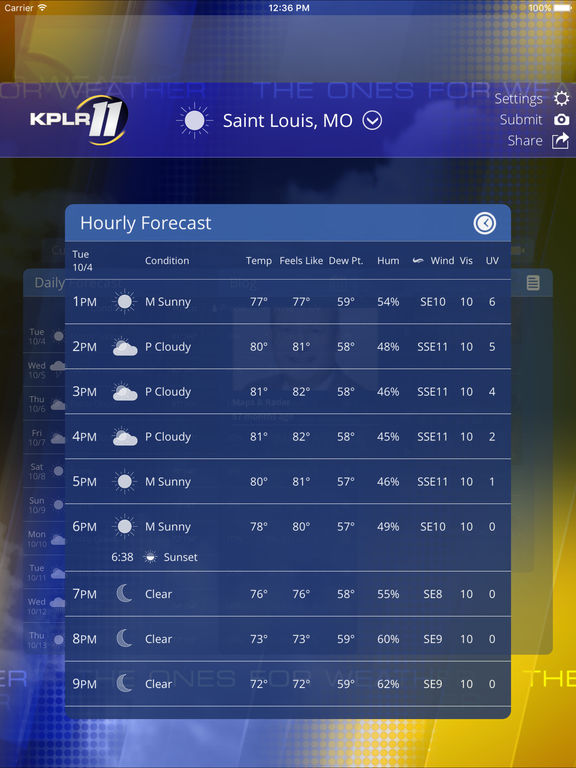Channel 4 News St Louis Weather