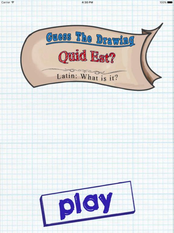 App Shopper: Guess the Drawing: Quid Est? (Games)