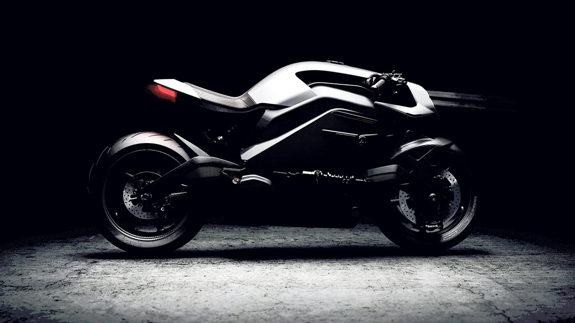 Electric High Tech Iron Man Motorcycle Bike Revealed For
