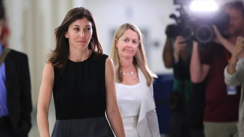 Lisa Page  cooperative    credible   lawmakers say after 5 hour     Former FBI lawyer Lisa Page leaves following an interview with lawmakers behind  closed doors on Capitol