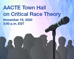 AACTE Town Hall On Critical Race Theory - American Association Of Colleges  For Teacher Education (AACTE)