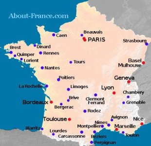 Limoges Location On The France Map Full HD MAPS Locations - Limoges france map