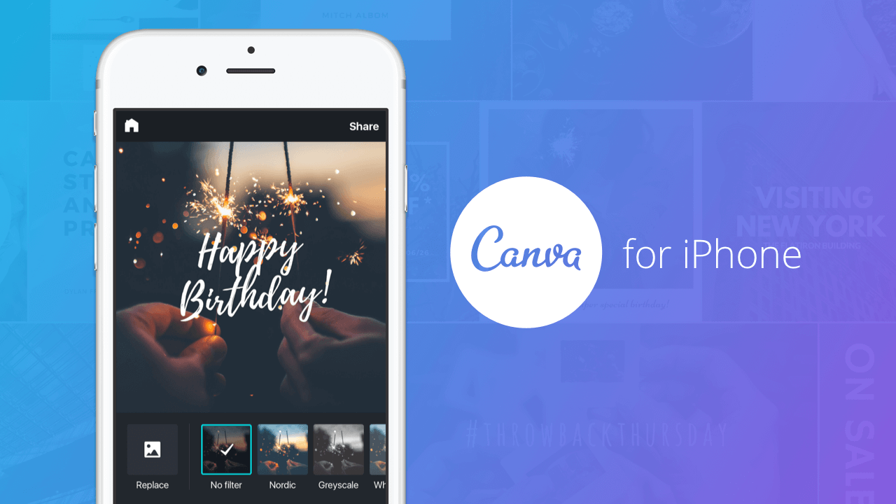Canva Iphone App Professional Designs On The Go