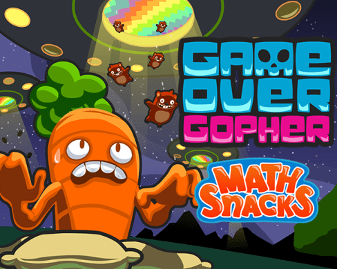 Math Snacks  Game Over Gopher Now Live on GlassLab Games    GlassLab     Game Over Gopher has now joined the growing library of high impact digital  games on GlassLab Games  It is a fun and exciting tower defense game built