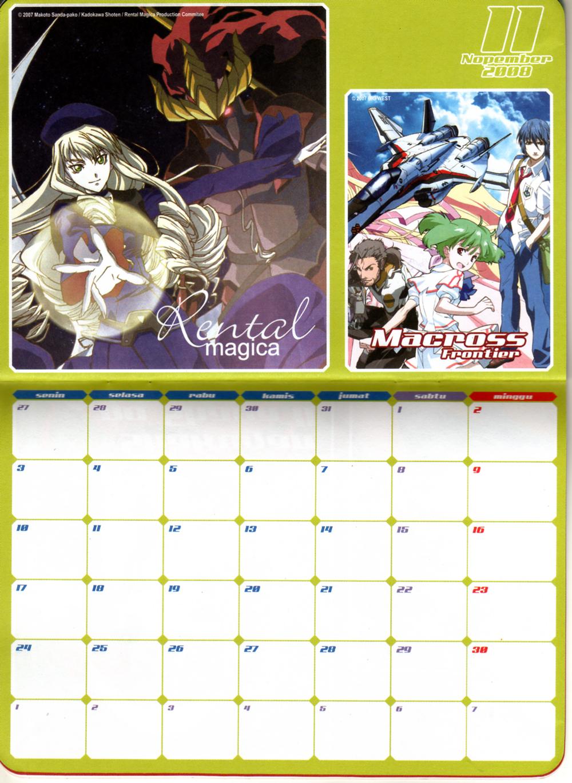 Anime Calendar Accidental Anime