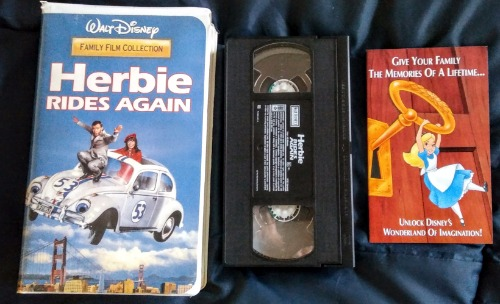 Herbie Rides Again VHS Clamshell - CASSETTE AND VIDEO CORNER