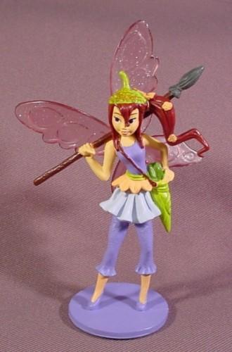 Disney Bess Fairy Figure On A Base, Tinkerbell's Pixie ...
