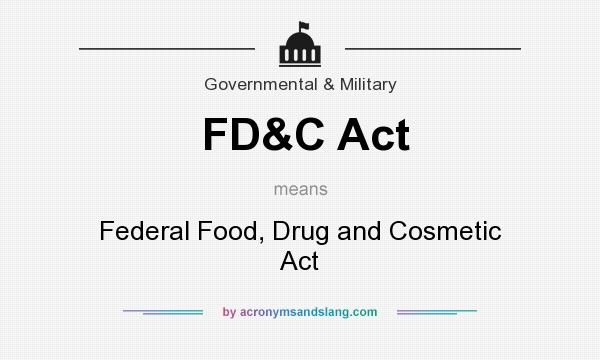 Federal Food And Drug Act