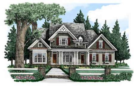 Southern Living Custom Builder   Action Builders Inc    Bucknell     Action Builders Inc    Southern Living Floor Plans Bucknell Place Elevation