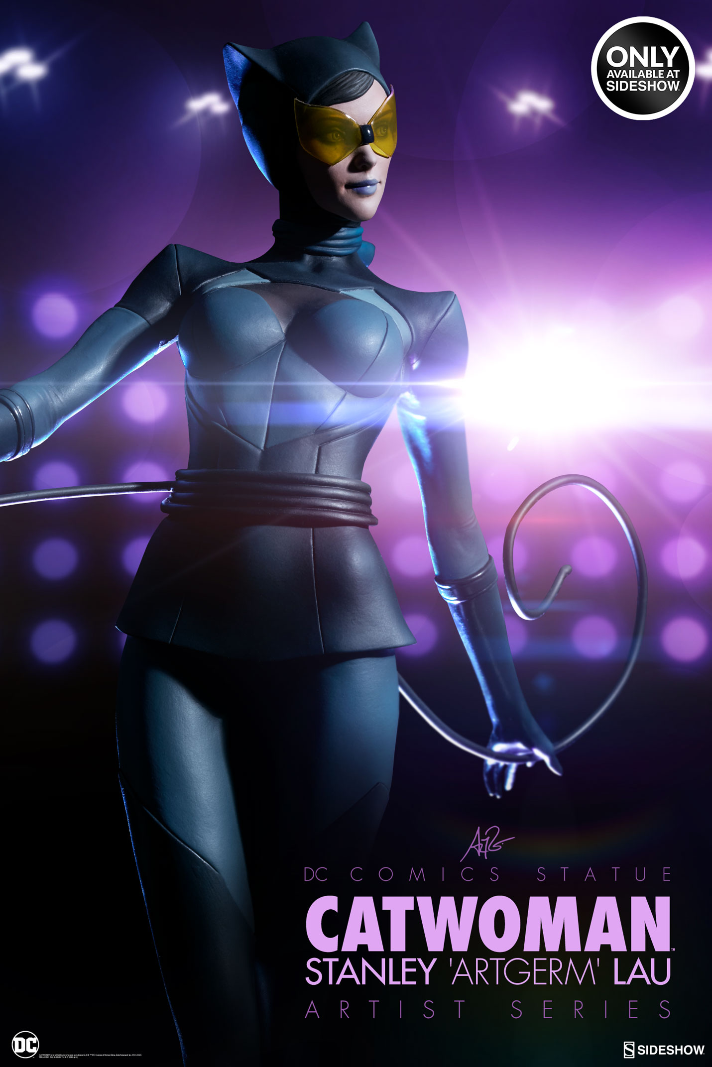 Catwoman Stanley Artgerm Lau Artist Series Statue by ...