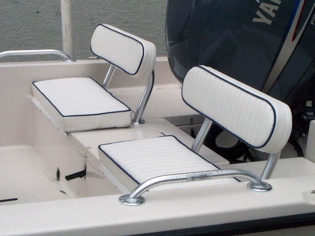Flats Boat Aluminum Backrest