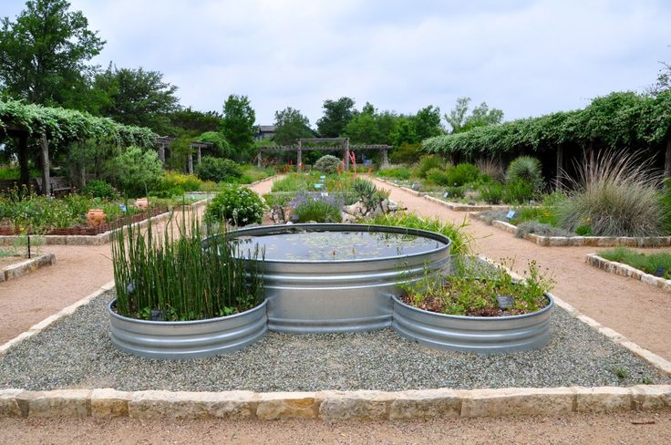 Galvanised Trough Planters
