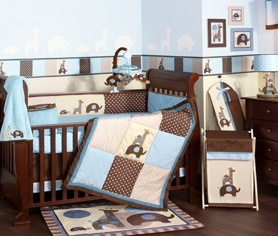 Baby Boy Bedding Sets Etsy