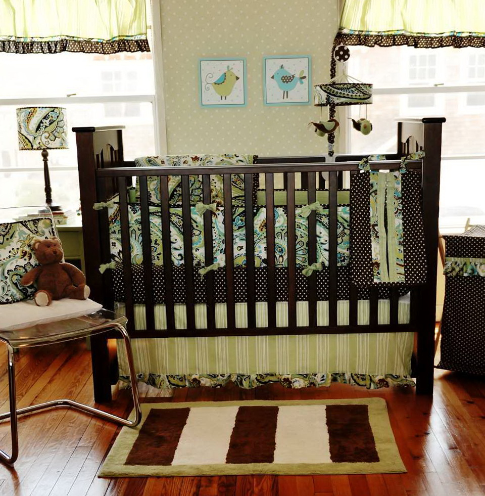 Baby Boy Modern Crib Bedding Sets