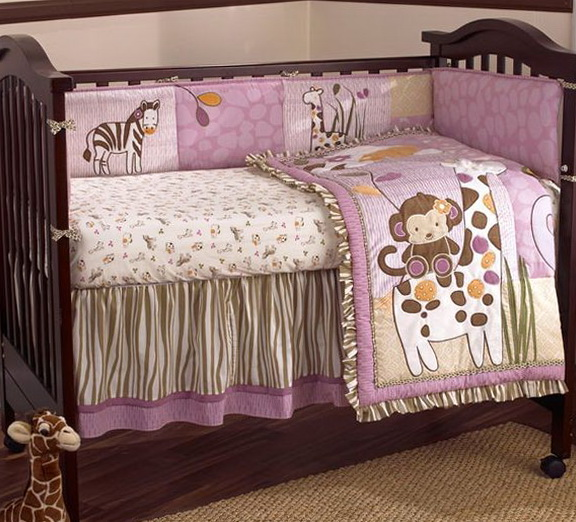 Baby Girl Bedding Pink