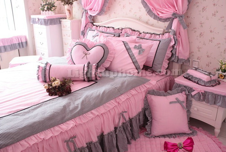 Baby Girl Bedding Sets Pink And Gray