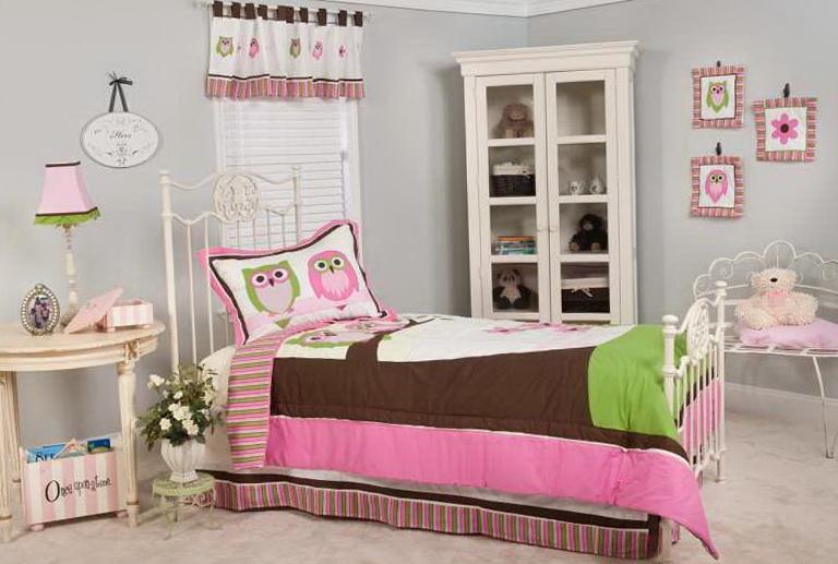 Baby Girl Crib Bedding Owls