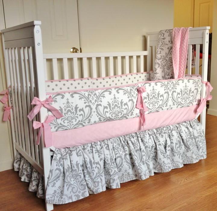 Baby Girl Crib Bedding Sets Etsy