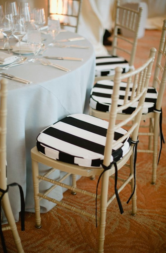Black And White Outdoor Chair Cushions