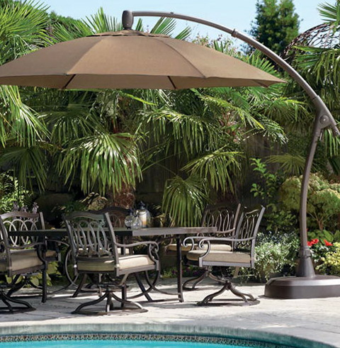 Costco Patio Furniture Umbrella