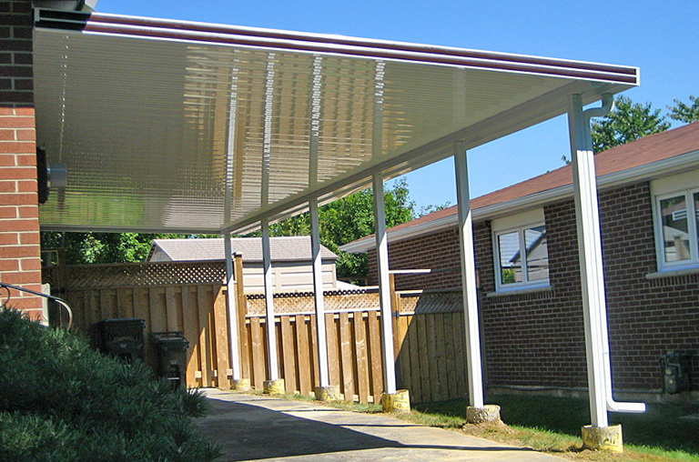 Flat Pan Aluminum Patio Covers