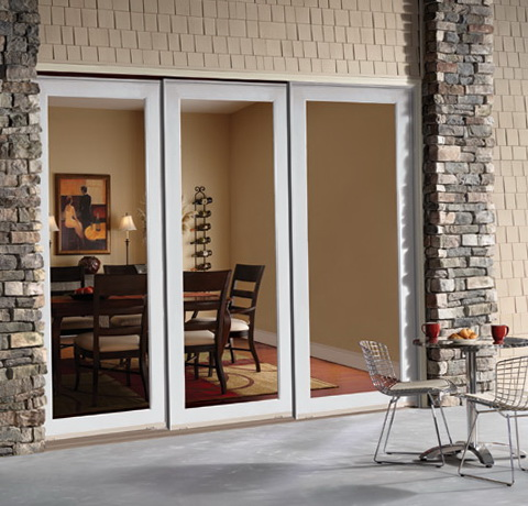 French Patio Doors Exterior