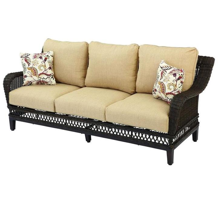 Hampton Bay Patio Furniture Cushions Home Depot