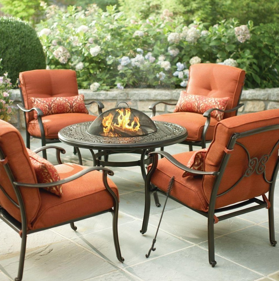 Hampton Bay Patio Furniture Fire Pit