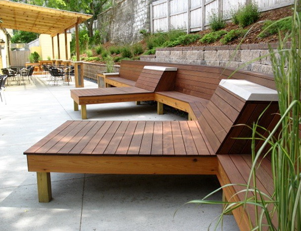 Modern Wood Patio Furniture