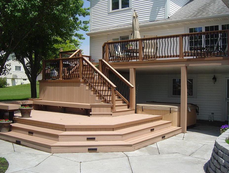 Multi Level Decks And Patios