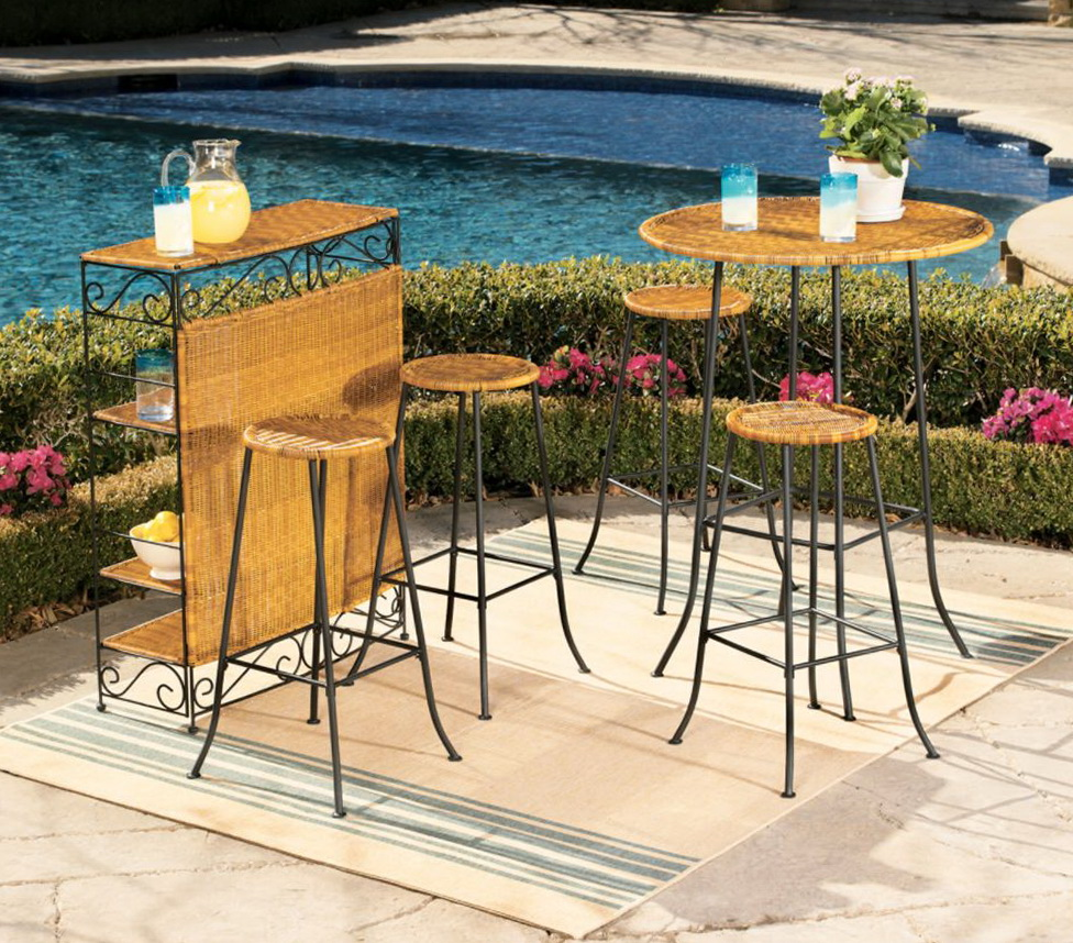 Patio Bar Set Kmart