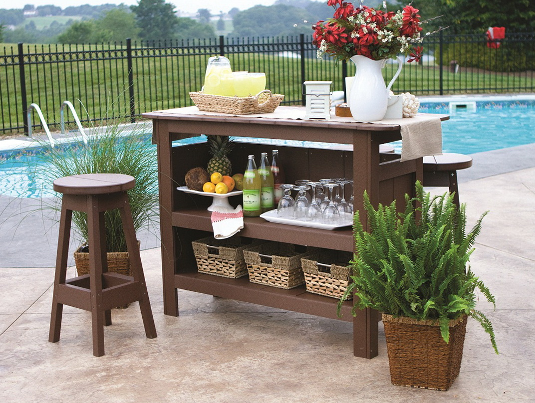 Patio Bar Set Lowes