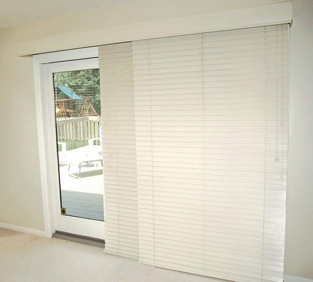 Patio Door Blinds Horizontal