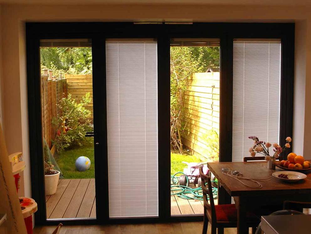 Patio Door Blinds Inside