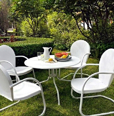 Retro Patio Furniture Sets