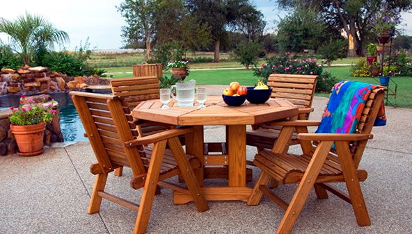 Rustic Patio Furniture Sets