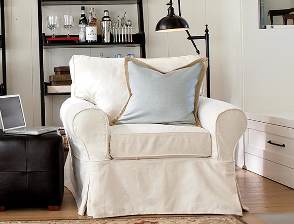 Slipcovers For Chairs White