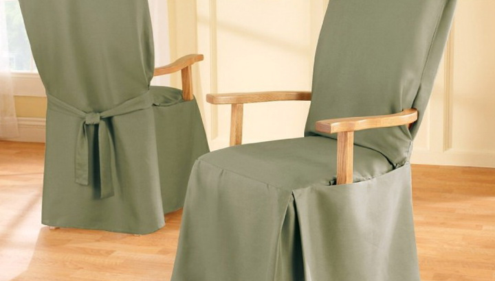 Slipcovers For Chairs With Arms