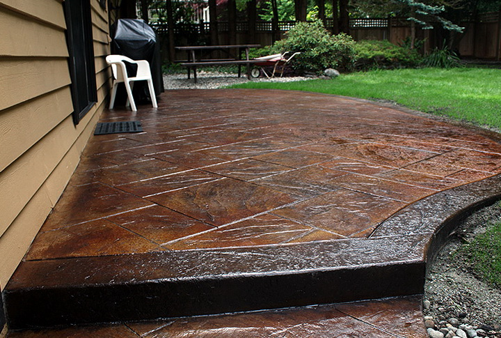 Stamped Concrete Patio Colors