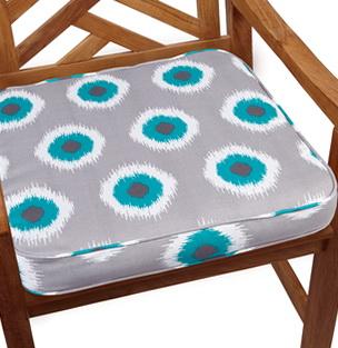 Teal Outdoor Chair Cushions