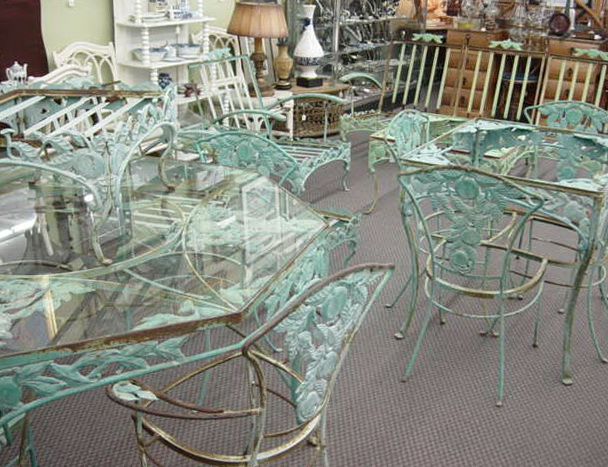 Vintage Woodard Patio Furniture
